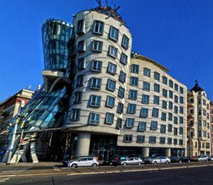 La casa danzante Praga