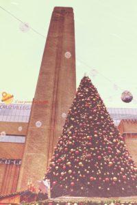 Tate Modern natale londra dicembre