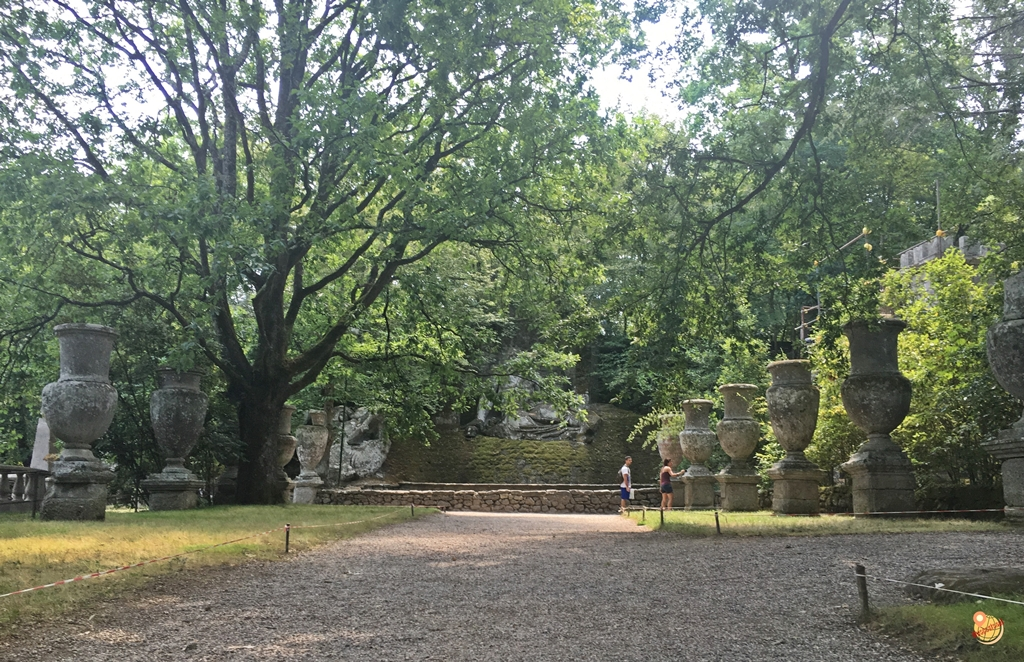 Nettuno Parco dei Mostri Bomarzo