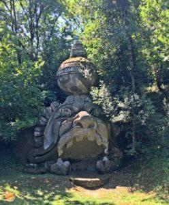Proteo-Glauco Parco dei Mostri Bomarzo