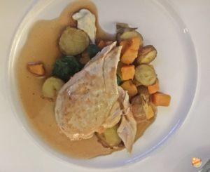 Pan roast chicken breast Howies Edimburgo
