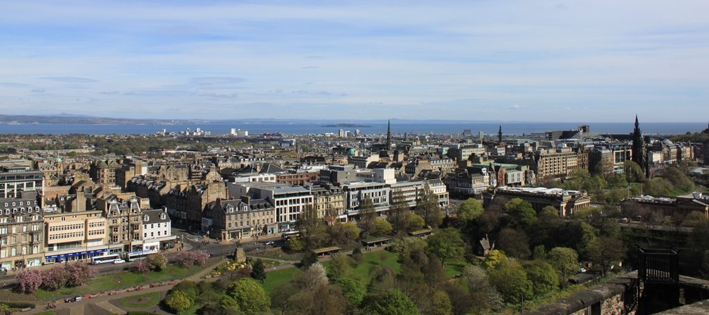 Panorama di Edimburgo