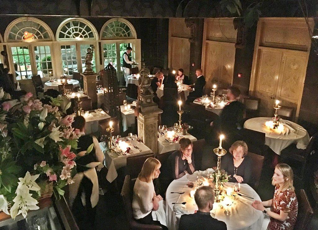 The witchery Secret Garden ristorante ad Edimburgo