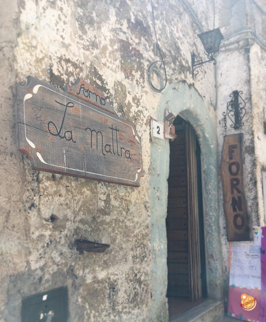 Forno La Mattra Calcata