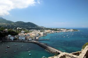 Panorama dal Castello Aragonese Ischia