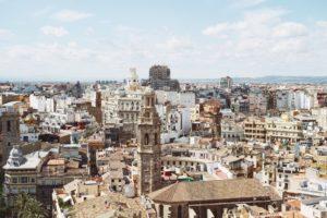 Panorama dall'alto Valencia