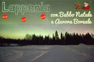 Lapponia aurora boreale
