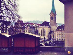 Come arrivare mercatini Natale a Zurigo