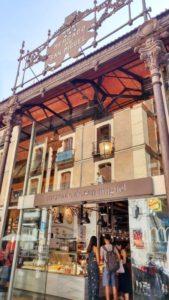 Mercado de san miguel Madrid cucina spagnola