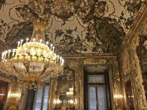 Sala interna Palazzo Reale Madrid