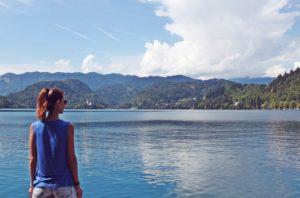 Ammirare il Lago di Bled