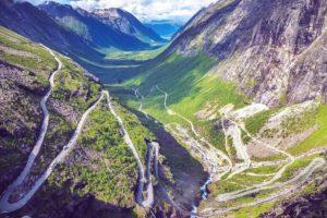 Trollstigen Road Norvegia