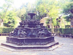 Fontana dei delfini Villa Lante