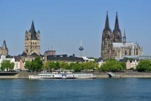 Panorama di Colonia da vedere in 2 giorni