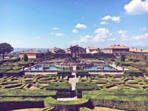 Gita fuori porta Roma a Villa lante Bagnaia Viterbo