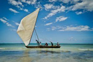 Dhow imbarcazione Zanzibar