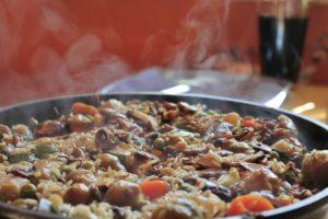 Paella carne valencia