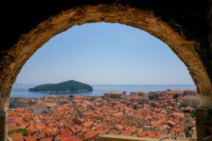 Vista Isola Lokrum Dubrovnik