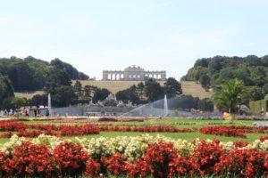 Giardini castello Schönbrunn Vienna