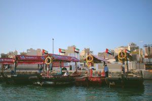 Quartiere Deira al Dubai creek