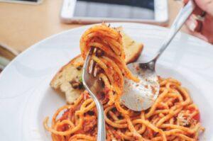 Pici all'aglione piatto tipico Siena
